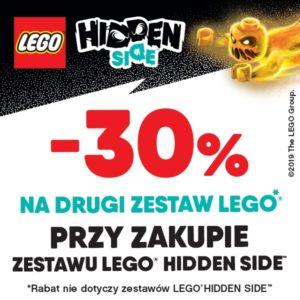 TOP TOYS: drugi zestaw LEGO -30%