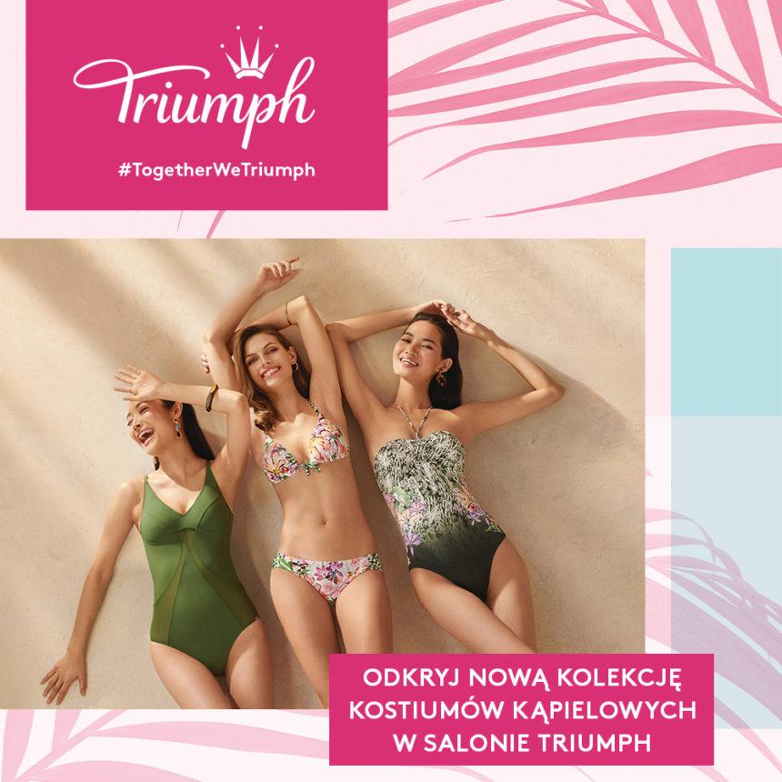 TRIUMPH: nowa kolekcja strojów kąpielowych Quick Dry