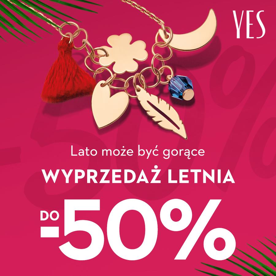 YES: letnia wyprzedaż do -50%