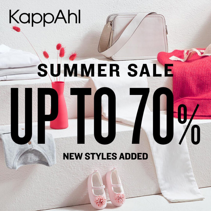 KAPPAHL: summer sale do -70%