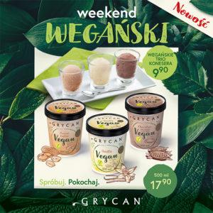 GRYCAN: wegański weekend