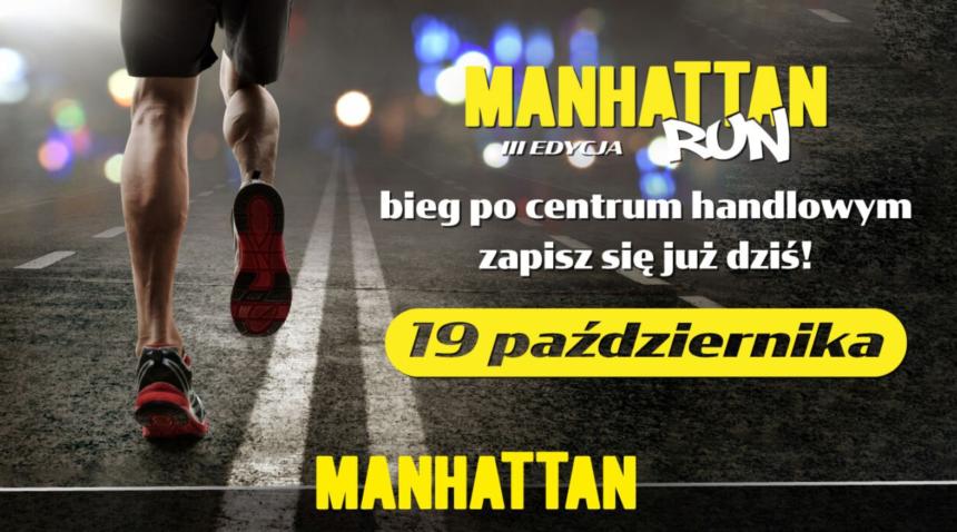Manhattan Run: edycja III – zapraszamy i pomagamy
