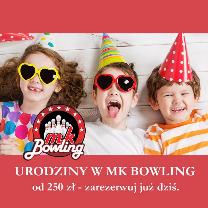 MK BOWLING: pakiety urodzinowe