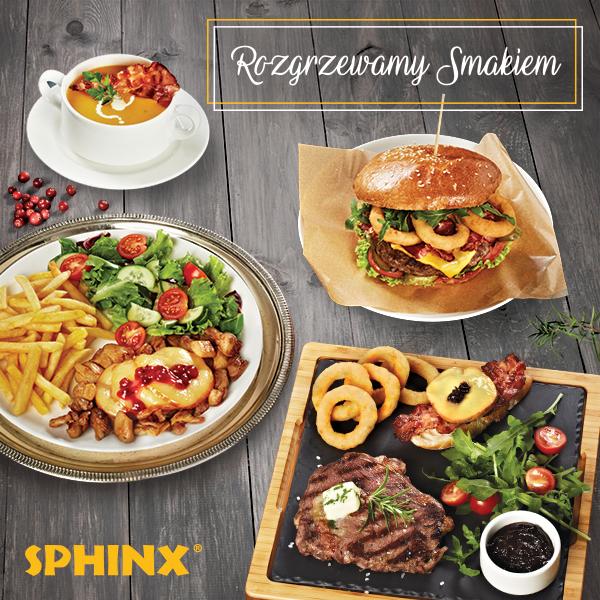 Restauracje Sphinx rozgrzewają smakiem