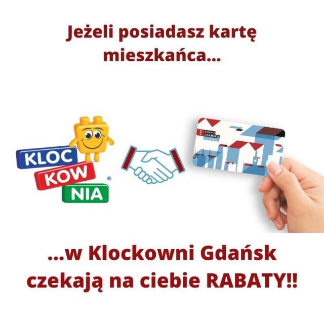 KLOCKOWNIA: -20% z kartą mieszkańca