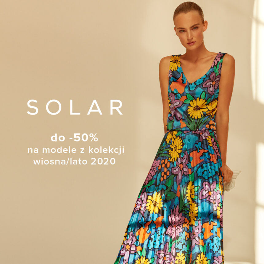 SOLAR: season sale do -50%