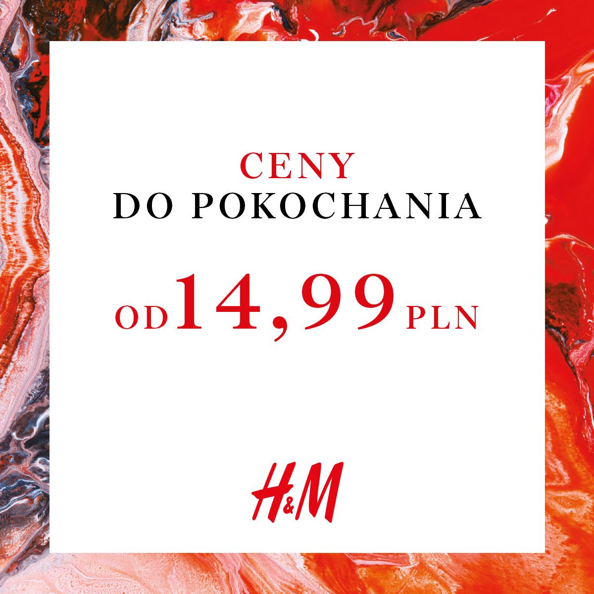 H&M prezentuje: ubrania w cenach, które pokochasz