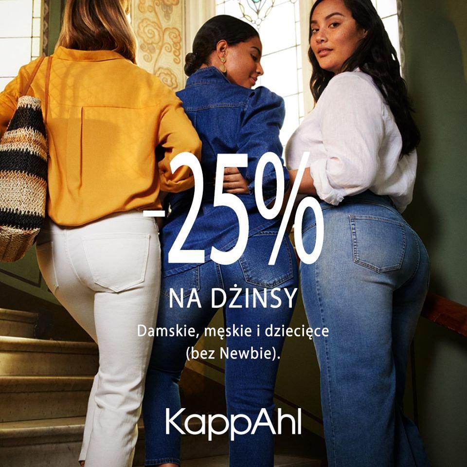 KAPPAHL: jeansy -25%