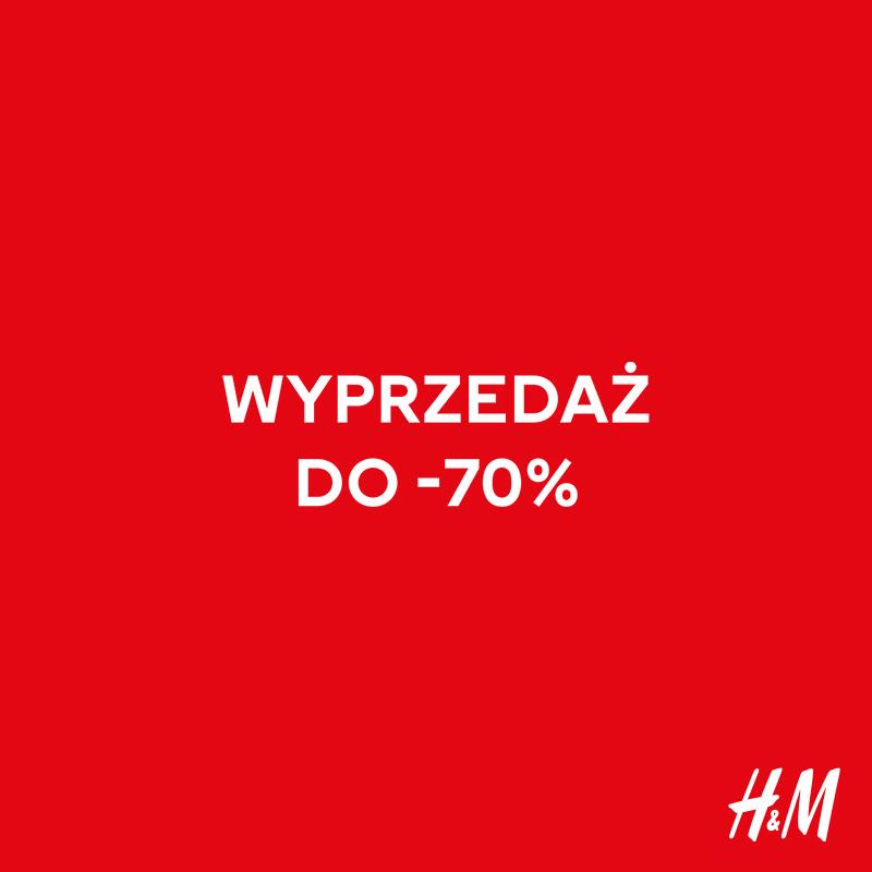 H&M: wyprzedaż do -70%