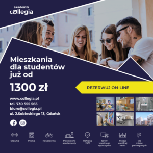 Akademik Collegia już od 1300 zł