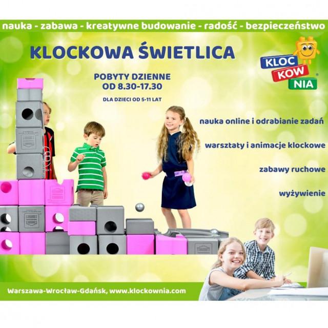 KLOCKOWNIA: klockowa świetlica
