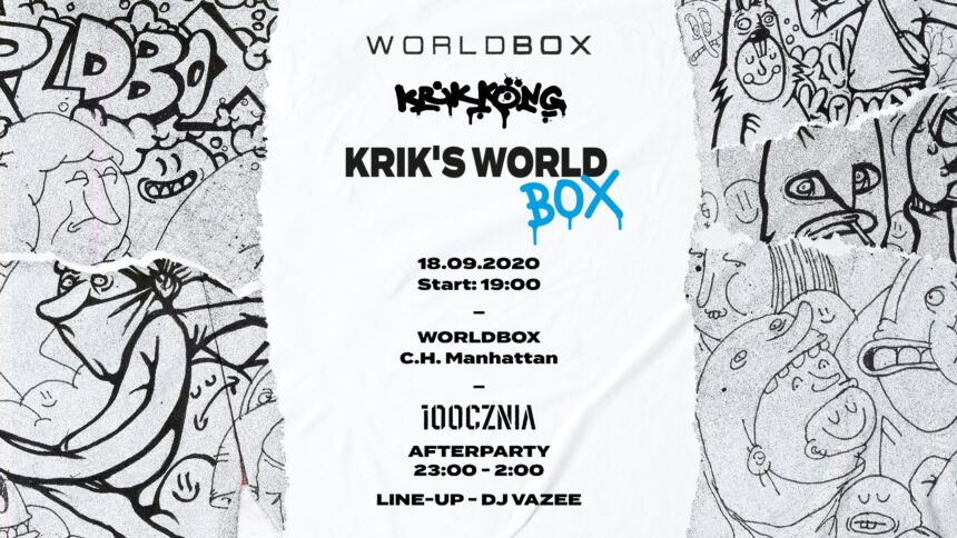 Worldbox x KrikKong presents 'Krik's World'