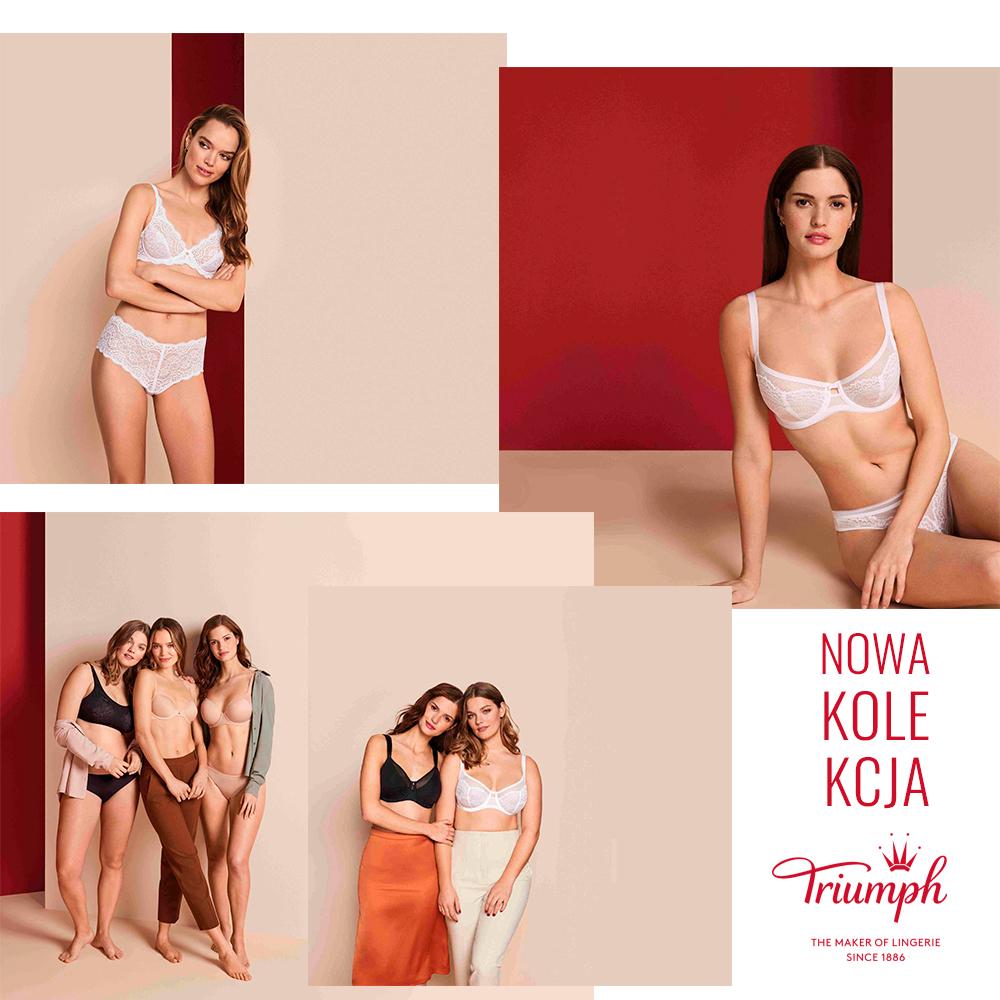 TRIUMPH: nowe jesienne kolekcje