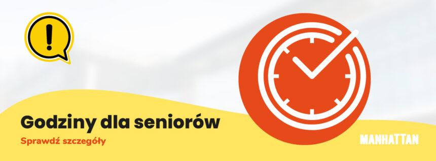 Godziny dla Seniorów