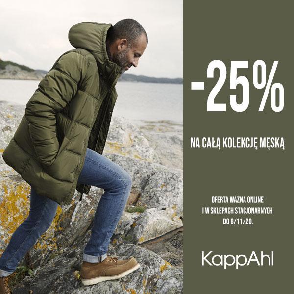 KAPPAHL: -25% na kolekcję męską