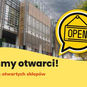 Sprawdź listę otwartych sklepów