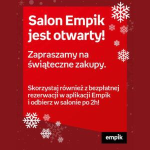 EMPIK: zaprasza na świąteczne zakupy
