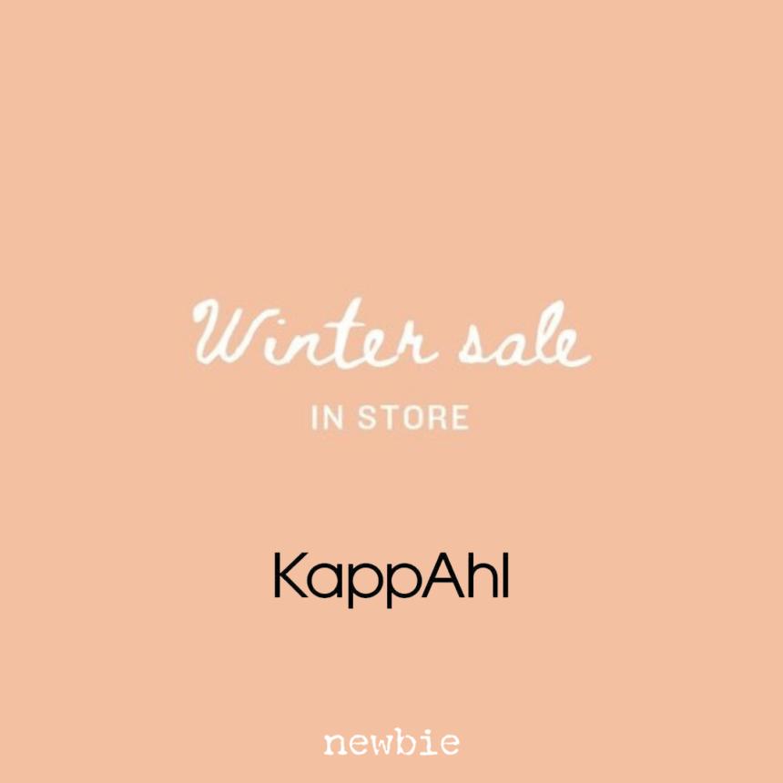 KAPPAHL: winter sale newbie -30%