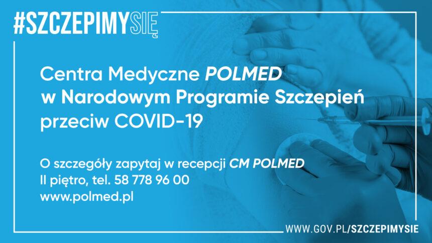 Punkt bezpłatnych szczepień przeciwko covid-19