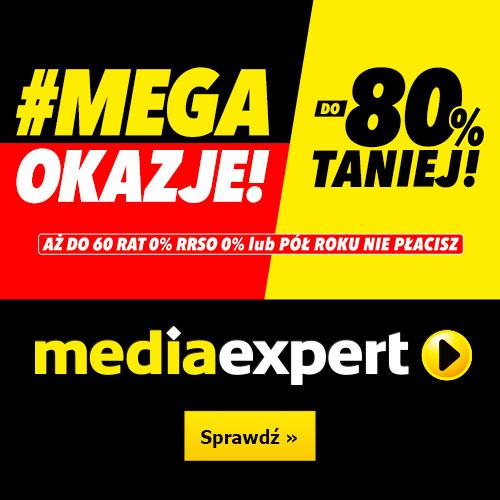 MEDIA EXPERT: #Mega Okazje! Taniej do -80%