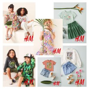 Wiosna na ubraniach w H&M