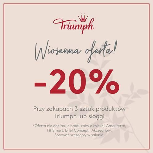TRIUMPH: wiosenna promocja