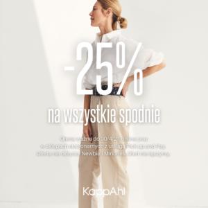 KAPPAHL: spodnie -25%