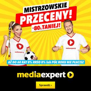 MEDIA EXPERT: mistrzowskie przeceny do -80%