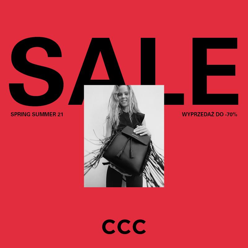 Wyprzedaż w CCC nawet do -70%!