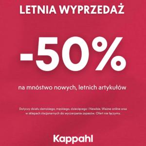 KAPPAHL: letnia wyprzedaż do -50%