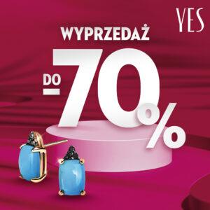 YES: wyprzedaż do -70%