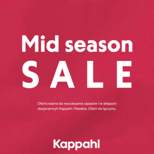 KAPPAHL: mid season sale
