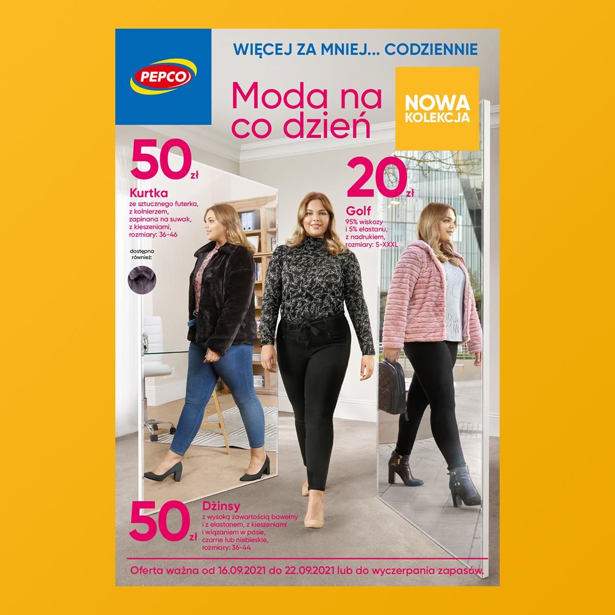 PEPCO: moda na codzień – gazetka
