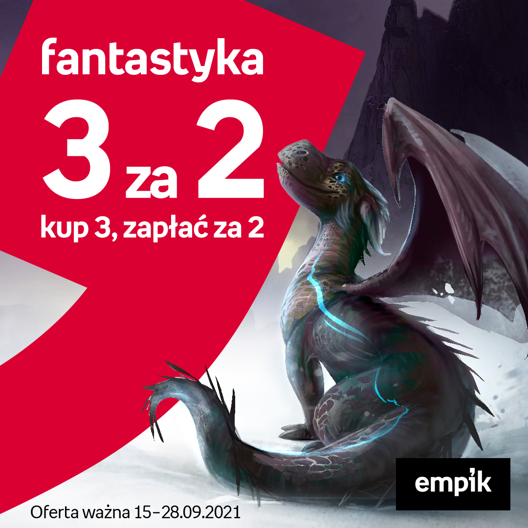 EMPIK: fantastyka 3 za 2